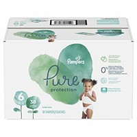 Pampers Diapers Size 6, Pure Protection Disposable