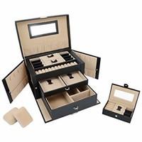 SortWise Lockable Jewelry Box Storage 20