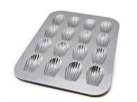 USA Pan Bakeware Madeleine Pan with 16 Wells