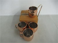 Prisha India Craft Copper Plating Moscow Mule Mug