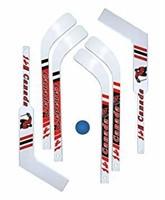 7pc. Mini-Hockey Set (6 mini-sticks with 1