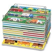 Melissa & Doug Puzzle Storage Rack - Wire Rack