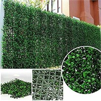 ULAND Artificial Topiary Hedges Panels, Plastic