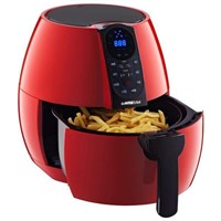 GoWISE USA 3.7-Quart Programmable Air Fryer with 8