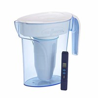 ZeroWater 6 Cup Pitcher with Free Water Quality
