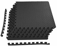 BalanceFrom Puzzle Exercise Mat EVA Foam