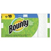 Bounty select-a-size paper towels, white, 12 giant