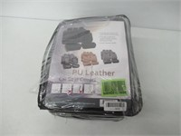 FH Group PU Leather Seat Covers Airbag Compatible