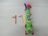 Ojam Kids Swing 'N Play Toy Golf Set, 12 Piece