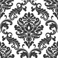 WallPops NU1646 Ariel Damask Peel and Stick