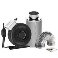 VIVOSUN Air Filtration Kit: 4 Inch 203 CFM Inline