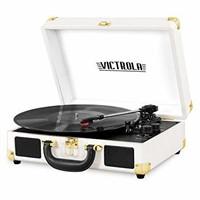 """""""Used"""" Victrola Vintage 3-Speed Bluetooth Suitcase"""