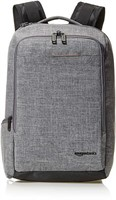 Slim Carry On Travel Backpack, Grey - Overnight