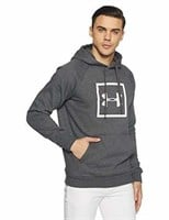 Under Armour Men's Large Rival Fleece Logo Hoodie,