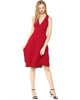 Dress the Population Women's XS Catalina Solid