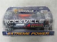 Rockville RXC4D 4 Farad Digital Car Capacitor Blue