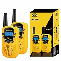 DILISS Walkie Talkies for Kids Voice Activated