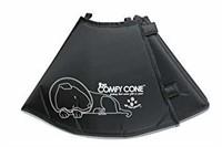 """Used"" - Comfy Cone Pet E-Collar, Large, Black"