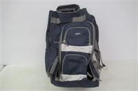 Olympia 26-Inch 8 Pocket Rolling Duffel Bag, Navy,