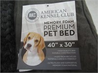 American Kennel Club Memory Foam Sofa Pet Bed,