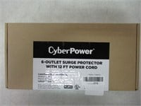 CyberPower CSB6012 Essential Surge Protector,