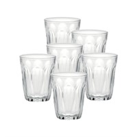Duralex Provence Glass Tumbler (Set of 6), 3.125