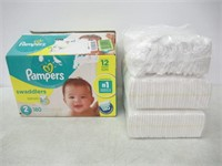 """""""As Is"""" Pampers Diapers Size 2, Swaddlers"""