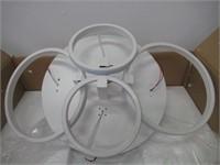 ONLT LED Chandelier, Super-Thin Circle Ceiling