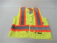 Viking 6195G-S Surveyor Mens SM Safety Vest -