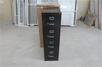 """As Is"" Lorell 4-Drawer Vertical File, 15 by 22 by"