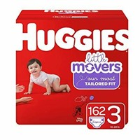 Huggies Little Movers Diapers for Active Babies,