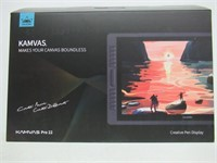 Drawing Monitor HUION KAMVAS Pro 22 Pen Tablet