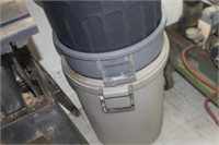 Lot of 4 Trash Cans