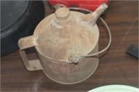 Vintage Metal Oil Can