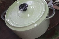 Enamel Cast Iron Pot with Lid, #24