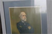 Robert E Lee Framed Print,17x21