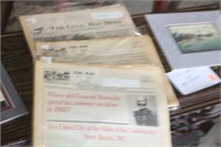 Lot of Civil War Prints & Papers