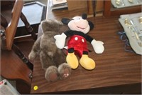 Dale Earnhardt,Mickey & Wiley Coyote Doll