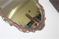 Vintage Framed Mirror