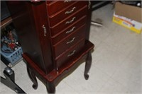"""Jewelry Armoire,40"""" Tall"""