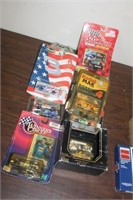 Lot of Nascar Collector Cars