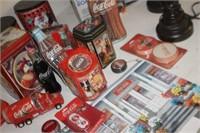 Lot of Coca Cola Collector Items