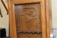 Gun Cabinet with Key,23x13x67 tall