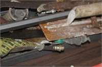 Tray of Various Tools & Hardware
