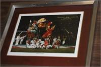 Alabama Football Print,9x11