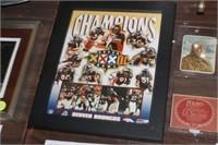 Denver Broncos Super Bowl Poster,9x12