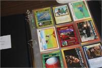 Album of Various Comic Cards