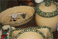 Lot of Dishes,Mostly Stoneware