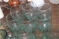 Lot of Glass Fruit Dishes