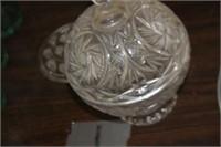 Cyrstal Dish with Lid